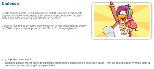 Descripcion de Cadence