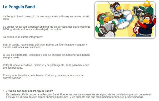 Descripcion de La Penguin Band